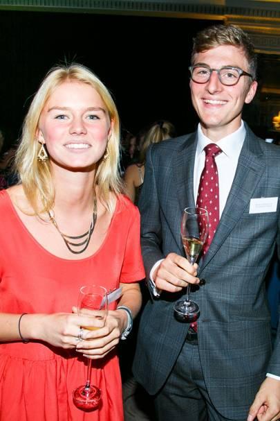 Susanna Flory and Oscar Von Hannover