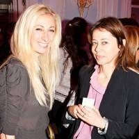 Jenny Halpern and Lisa Armstrong