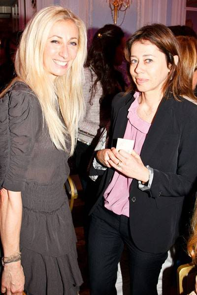 Jenny Halpern and Lisa Armstrong