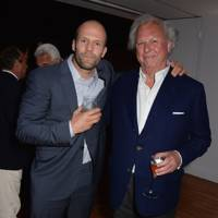 Jason Statham and Graydon Carter