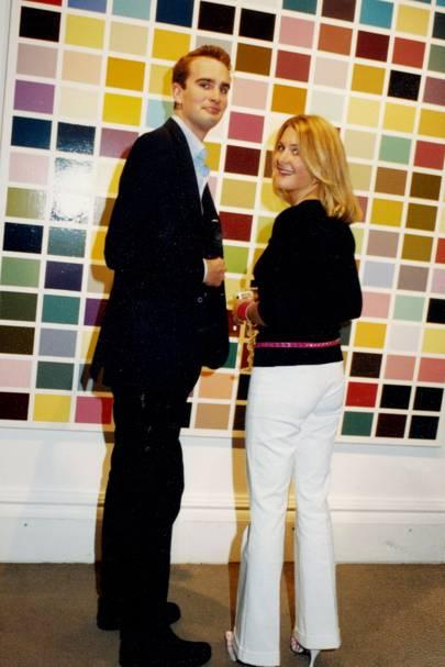 Fritz von Westenholz and Kinvara Balfour