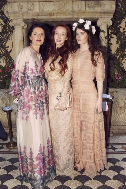 Luisa Beccaria, Olivia Grant and Luna Bonaccorsi