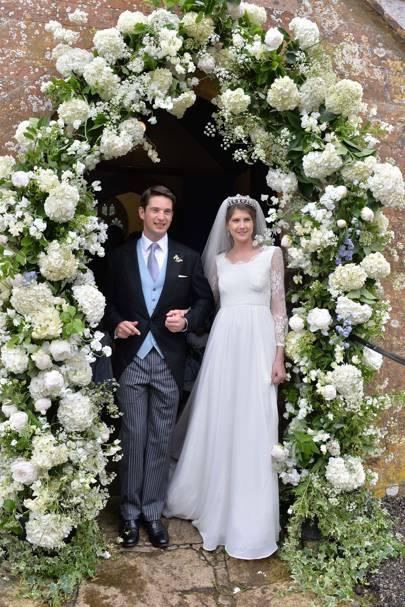 2014 - James Tollemache and Princess Florence von Preussen