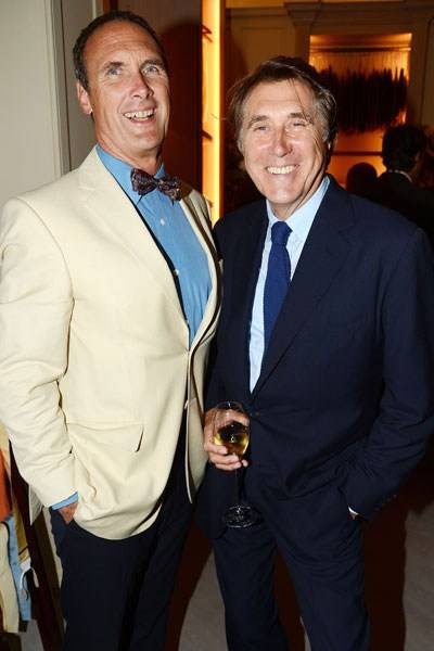 AA Gill and Bryan Ferry