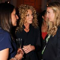 Kelly Hoppen and Anya Hindmarch