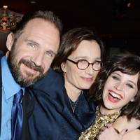 Ralph Fiennes, Kristin Scott Thomas and Felicity Jones