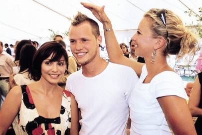 Natalie Imbruglia, Sam Branson and Holly Branson