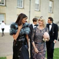 Countess Debonnaire von Bismarck and Lady Charlotte Dinan