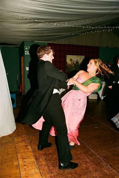 Alexander Macpherson and Esmeralda Lockhart