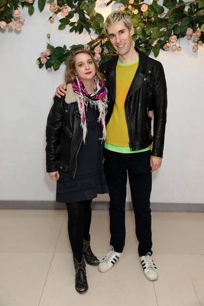 Daisy de Villeneuve and Clym Evernden
