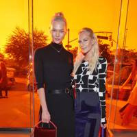 Karlie Kloss and Poppy Delevingne at Diane von Furstenberg