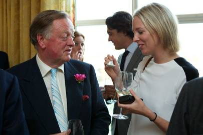 Andrew Parker Bowles and Sophia Hesketh