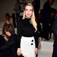 Emma Roberts at the BOSS show