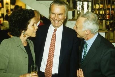 Lady Owen, Lord Owen and Roger Katz