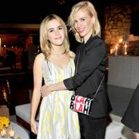Kiernan Shipka and January Jones