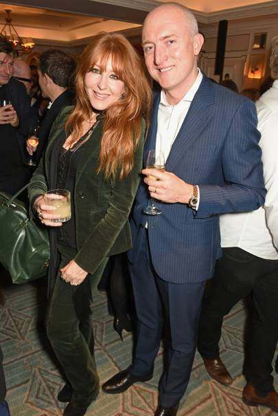 Charlotte Tilbury and Andy Martin