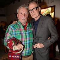 David Bailey and Bill Nighy
