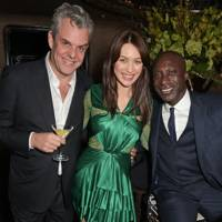 Danny Huston, Olga Kurylenko and Ozwald Boateng
