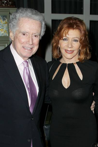 Regis Philibin and Joy Philibin