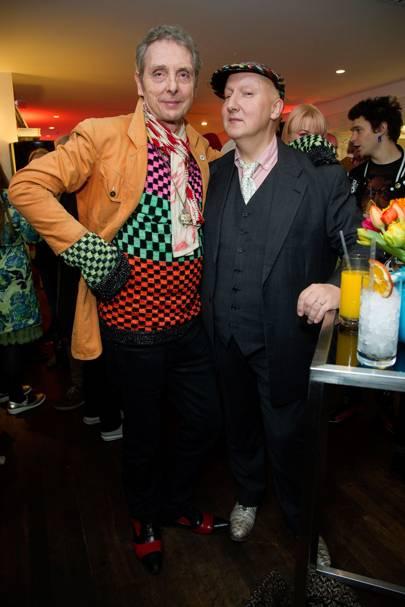 Bruno Wizard and Stephen Jones