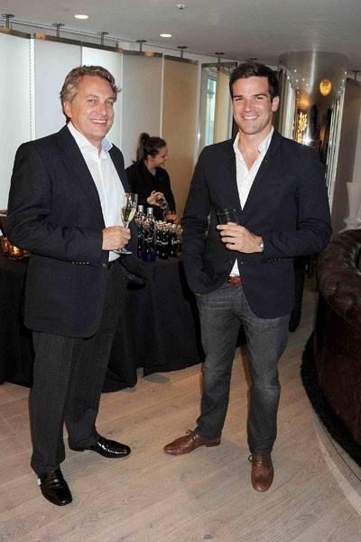 Adrian Hobbs and Gethin Jones