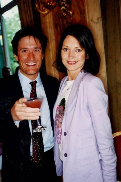 Oliver Lane-Fox and Mrs Oliver Lane Fox