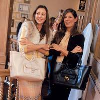Tamara Mellon and Mrs Tom Saltzman-Walker