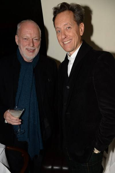 David Gilmour and Richard E. Grant