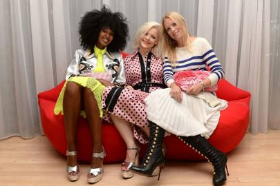 Julia Sarr-Jamois, Fran Burns and Victoria Young