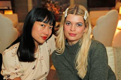 Mimi Xu and Pixie Geldof