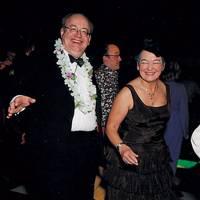 Julian Chadwick and Mrs Graham Mather