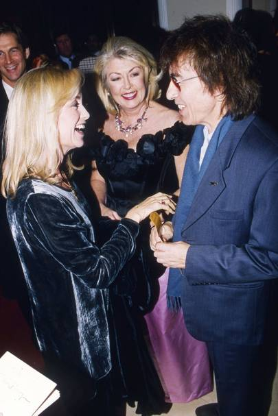 Susan George, Lady Tryon and Bill Wyman