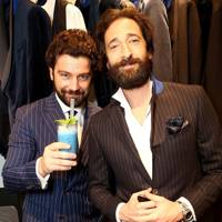Alessandro Carnicella and Adrien Brody