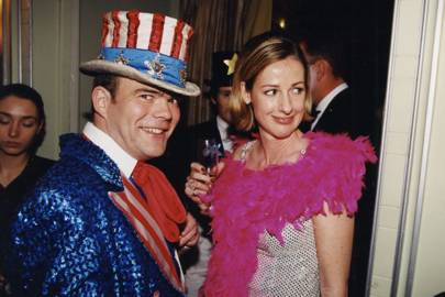 Caspar Hobbs and Mrs Kenneth Borton