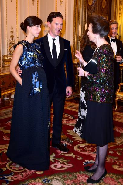 Sophie Hunter, Benedict Cumberbatch and the Princess Royal