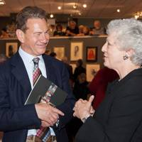 Michael Portillo and Dame Monica Mason
