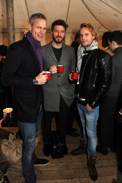 Mark Foster, Rick Edwards and Jack Fox