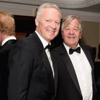 Rory Bremner and Sir Michael Stoute