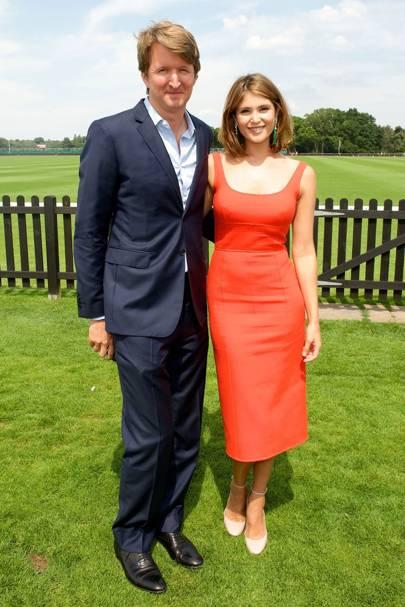 Tom Hooper and Gemma Arterton