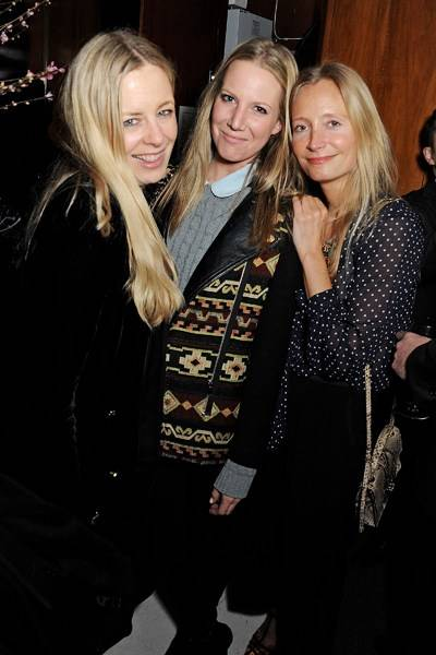Astrid Harbord, Alice Naylor-Leyland and Martha Ward