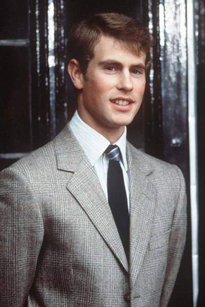 Prince Edward at Cambridge University in 1983, aged 19