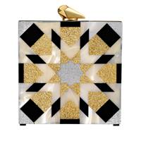 Perspex clutch, £530, by Kotur