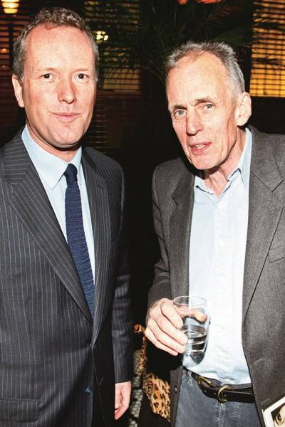 Edward St Aubyn and James Fox