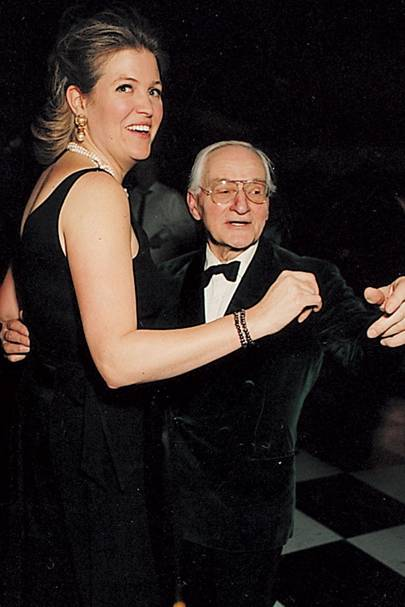 Mrs Ross Palmer and John Ciechanowski