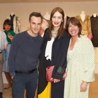 Nick Vinson, Roksanda Ilincic and Natalie Kingham