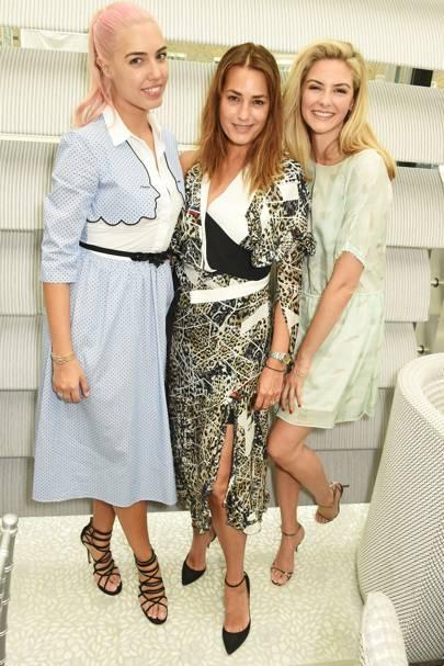 Amber Le Bon, Yasmin Le Bon and Tamsin Egerton