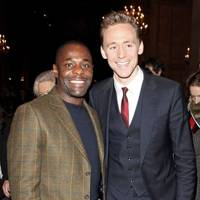 Paterson Joseph and Tom Hiddleston