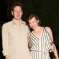Paul Anderson and Milla Jovovich