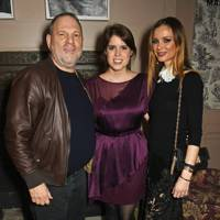Harvey Weinstein, Princess Eugenie and Georgina Chapman