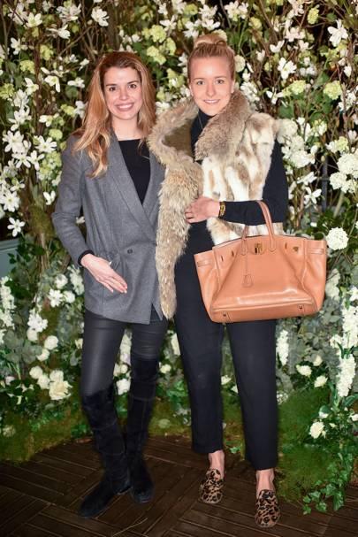 Sabine Roemer and Hermione Underwood